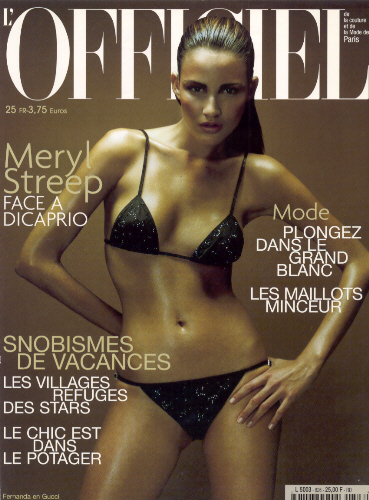 L'Officiel Francesa - Christophe Meimoon