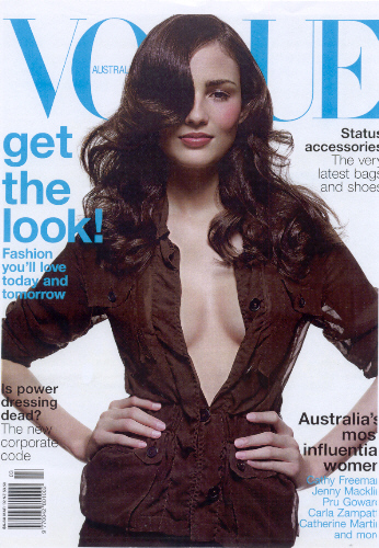Vogue Australia - Todd Barry